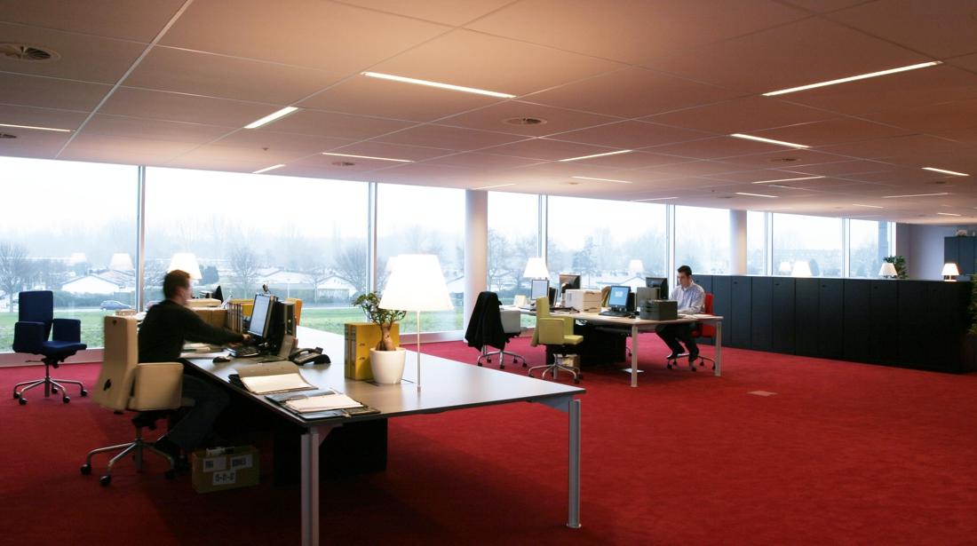 Moen & van Oosten - Sitecom - Het Nieuwe Werken kantoor